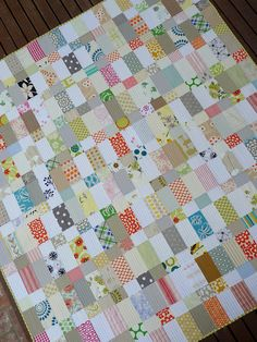 Strips and Bricks Quilt