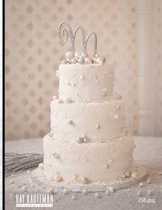 New Year's Eve Wedding Cake