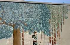 downtown-chico-sherwood-forest-mural |  By Scott Teeple