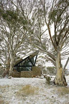 Under the Moonlight House on Mount Hotham, Australia by Giovanni D'Ambrosio Architecture