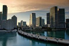 Brickell Key, Miami FL