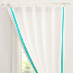 Suite Ribbon Drape With Blackout Lining | PBteen for Ava's room