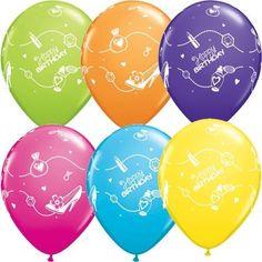 "Shopping Spree Latex Balloons, Birthday Party Decoration, Salon Decor 11"" ~ 10pc #Qualatex"