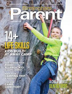 Birmingham Parent Magazine February Cover