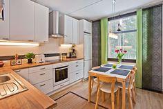 Sisustus - keittiö - ruokailutila