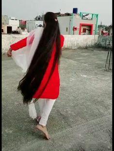 Bun Hairstyles For Long Hair, Braids For Long Hair, Indian Hairstyles, Beautiful Long Hair, Amazing Hair, Indian Long Hair Braid, Long Black Hair, Super Long Hair, Silky Hair