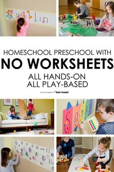 Homeschool Preschool: The Playing Preschool Program - Busy Toddler