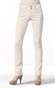Cabi Blush Lou Lou Jean.. lightest shade of blush.. awesome for winter or rolled into a crop pant for summer!!! ya!