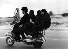 Yes- that is a family of 4 on a motorcycle