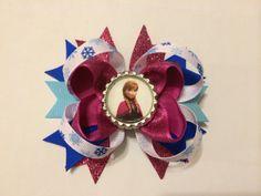 Disney Frozen Anna Glittery Hairbow