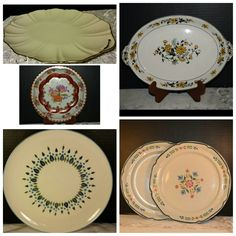 Platters and big plates at Shellyssselectsalvage.com