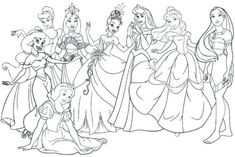 Looking for a Disney Junior Coloring Pages Princess. We have Disney Junior Coloring Pages Princess and the other about Coloring Page Fun it free. Moana Coloring Pages, Cinderella Coloring Pages, Disney Princess Coloring Pages, Disney Princess Drawings, Coloring Book Pages, Coloring Sheets, Little Disney Princess, Disney Princess Colors, Disney Colors