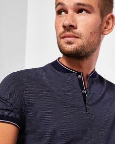 mens t-shirts extra long Polo Shirt Style, Polo Shirt Outfits, Mens Polo T Shirts, Ted Baker, Polo Design, Base Ball, Le Polo, Casual Wear For Men, Mens Activewear