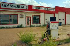 old gas station garage