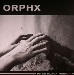 The artwork for the vinyl release of: Orphx - Pitch Black Mirror (Sonic Groove) #music Techno