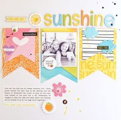 #papercrafting #scrapbook #layout - Bella Blvd. mix and match layout by Jennifer Chapin.