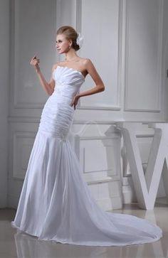 Taffeta Strapless Elegant Bridal Gowns - Order Link: http://www.theweddingdresses.com/taffeta-strapless-elegant-bridal-gowns-twdn6084.html - Embellishments: Sequin , Paillette , Ruching , Edging; Length: Chapel Train; Fabric: Taffeta; Waist: Natural - Price: 157.79USD
