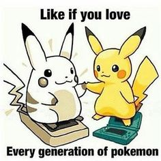 Like if you love Pokemon! Visit us: PokeMansion.com #Pokemon #PokemonGo