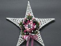 Boże Narodzenie-dekoracje świąteczne-gwiazda