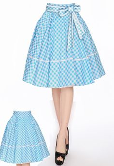 Retro Swing Skirt by Amber Middaugh