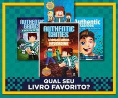 Quem já tem a sua coleção completa?   #LivrosAuthentic #maninhosemaninhas #AuthenticGames #ElectronicsStore