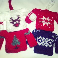 Knitting Patterns For Children s Christmas Jumpers : 1000+ images about christmas knits on Pinterest Knitted christmas decoratio...
