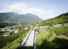 Spectacular Winery Architecture in Bozen, Italy | http://www.designrulz.com/design/2015/11/spectacular-winery-architecture-in-bozen-italy/