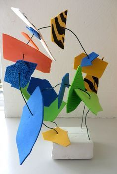 Amazing sculptural art for kids kindergarten sculpture, kindergarten art lessons, preschool art projects, Sculpture Lessons, Sculpture Projects, Sculpture Art, Wire Sculptures, Sculpture Ideas, Projects For Kids, Art Projects, Crafts For Kids, Classe D'art