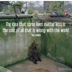 All Lives Matter * Your Daily Brain Vitamin v6.25.15 | I'm just going to say it out loud: I think zoos are cruel. Unless the animal has been injured and/or can't survive in the wild on its own somehow, why should we get to cage up a polar bear in Texas, for example? (*hint, this DBV can be applied to two legged animals too) | All Lives Matter | Motivational | Inspirational | Life | Love | Quotes | Words of Wisdom | Quote of the Day | DBV |