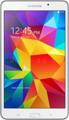 "#computer SAMSUNG GALAXY TAB 4 SM-T230N 8GB Wi-Fi 7"" WHITE SM-T230NZWAXAR GPS NOOK TABLET please retweet"