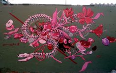 Sheter Tropical, First Art, Cool Drawings, Pink, Illustration, Painting, Animals, Character, Inspiration