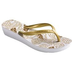 c2ab24568 Check out the deal on havaianas high light ethnics  white golden sun at Agua  Viva USA