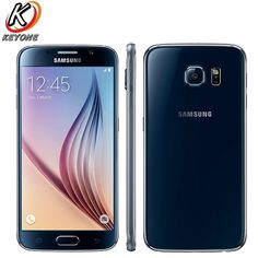 ab4e051494ca2 New Samsung GALAXY S6 G9200 G9208 LTE Mobile Phone 5.1″ 3GB RAM 32GB ROM  Octa Core 2560x1440p Dual SIM fingerprint Smart Phone