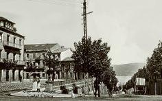 Las Calles Alfonso XIII y Lepanto en la primera década de 1900.