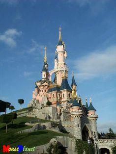 Disney Paris - castello della Bella Addormentata