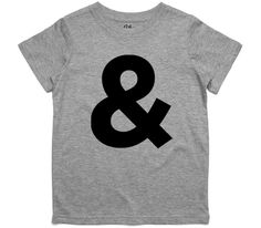 El Cheapo Ampersand (Black) Toddler Grey Marle T-Shirt