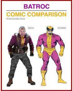 • BATROC - COMIC COMPARISON • I loved the mcu batroc, he has never been a big villain in the comics. - accurate.mcu