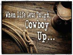 Cowboy up- Chris LeDoux