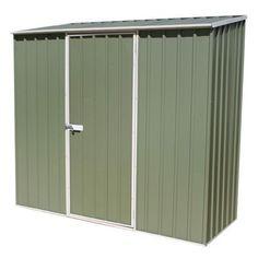 avon 5 x 3 green titanium pent metal shed metal sheds sheds garden pinterest avon and gardens