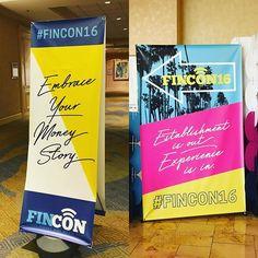 So ready for this nerd fest! #fincon16 #moneynerd #moneycoach #money #financialcoach