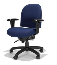 Mid Back Task Chair Fortune Midnight by RFM Seating - 1-800-460-0858 - Free Shipping - Office Furniture 2go.com $449