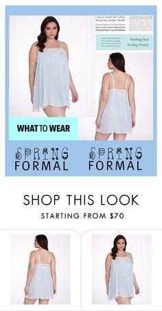 """Bez naslova #63"" by mersida-1 ❤ liked on Polyvore featuring Tiffany & Co., Oscar de la Renta and plus size clothing"