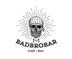 "Check out this @Behance project: ""Logo BadBroBar"" https://www.behance.net/gallery/30833675/Logo-BadBroBar"