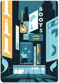 Transfuge by Tom Haugomat, via Behance
