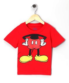 Loving this Red Mickey Headless Tee - Toddler & Boys on #zulily! #zulilyfinds