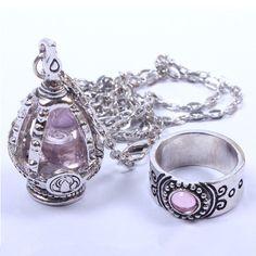 Cos Puella Magi Madoka Magica Soul Gem Ring and Necklace Set SP140381