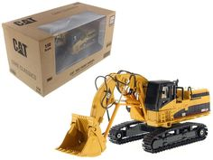 "Brand new scale diecast model of CAT Caterpillar Front Shovel with Operator ""Core Classics Series"" die cast model by Diecast Masters.Realistic hoses and grab rails. Ford Convertible, Caterpillar Equipment, Cat Machines, Toys In The Attic, Machine Photo, Heavy Construction Equipment, Heavy Machinery, Yellow Painting, Chevrolet Trucks"