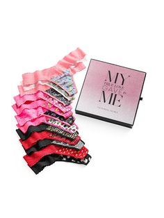 12 days of Christmas,12 oh-so-cute panties. | Victoria's Secret 12 Days of Panties