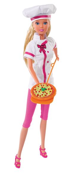 #simbatoys #steffilove #pink #doll #cute #toys #funtime #cooking #Pizza #kids