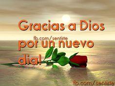 Jesus, Mi Amor Real: Gracias Dios x un dia mas!